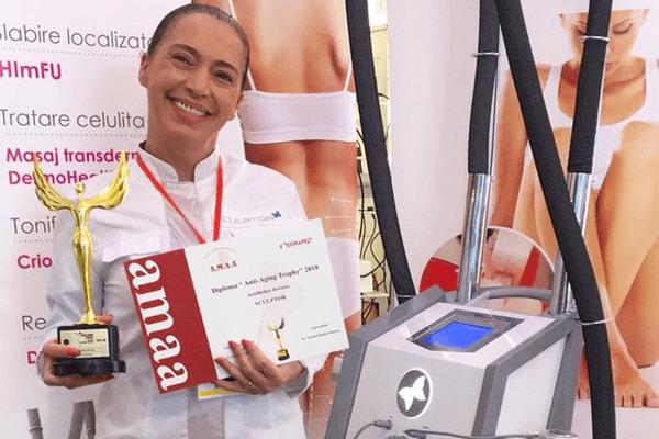 SCULPTOR – Premiul pentru cel mai bun echipament estetic al anului