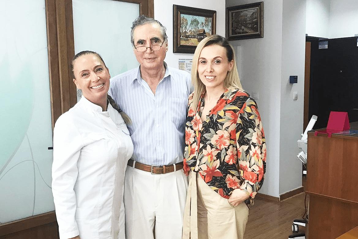 Prof. Dr. Ioan NEDELCU si Sorina Bratu intr-un seminar exclusiv dedicat segmentului medical